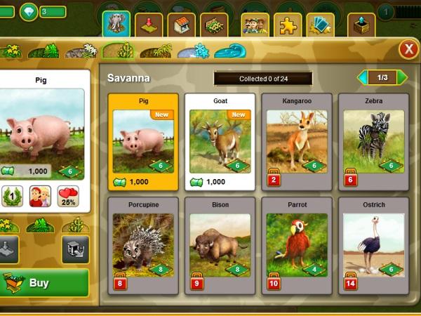 juegos de zoo online my free zoo. Black Bedroom Furniture Sets. Home Design Ideas